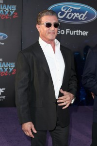 Sylvester Stallone Marvel Disney Guardians of the Galaxy Vol. 2 Los Angeles World Premiere