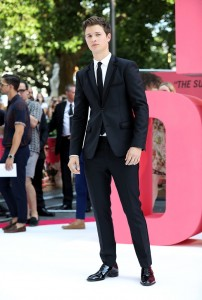 Ansel Elgort Baby Driver European Premiere Leicester Square London