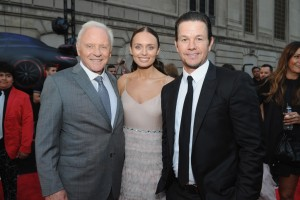 Anthony Hopkins, Laura Haddock and Mark Wahlberg Transformers: The Last Knight Chicago Premiere