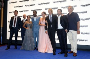 Cast and Crew Transformers: The Last Knight Global Premiere London Leicester Square