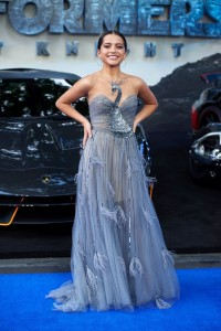 Isabela Moner Transformers: The Last Knight Global Premiere London Leicester Square