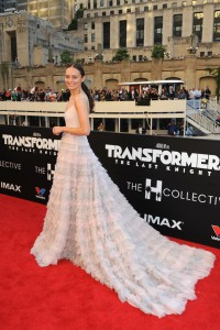 Laura Haddock Transformers: The Last Knight Chicago Premiere