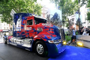 Optimus Prime Transformers: The Last Knight Global Premiere London Leicester Square