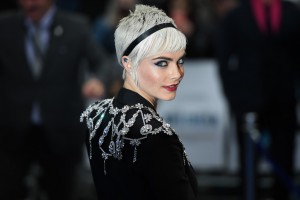 Cara Delevingne Valerian and the City of a Thousand Planets European Premiere London Leicester Square