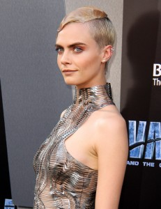 Cara Delevingne Valerian and the City of a Thousand Planets World Premiere Hollywood Los Angeles