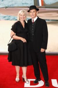 Claire van Kampen and Mark Rylance