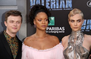 Dane DeHaan, Rihanna and Cara Delevingne Valerian and the City of a Thousand Planets World Premiere Hollywood Los Angeles