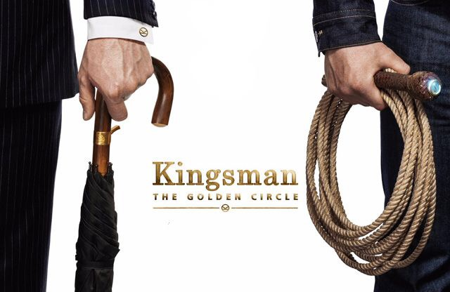 Kingsman The Golden Circle Official Poster