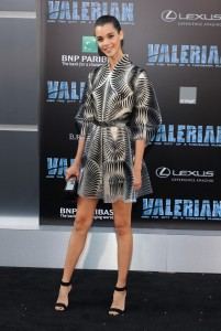 Pauline Hoarau Valerian and the City of a Thousand Planets World Premiere Hollywood Los Angeles