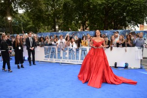 Rihanna Valerian and the City of a Thousand Planets European Premiere London Leicester Square