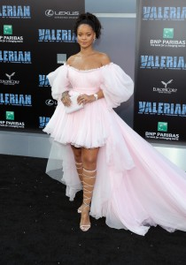 Rihanna Valerian and the City of a Thousand Planets World Premiere Hollywood Los Angeles