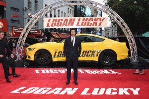 Adam Driver Logan Lucky UK Premiere London