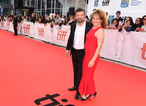 Andy Serkis and Lorraine Ashbourne Breathe Premiere during 2017 Toronto International Film Festival
