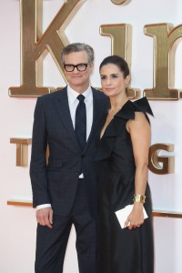 Colin and Livia Firth Kingsman: The Golden Circle World Premiere London Leicester Square