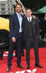 Reid Carolin and Channing Tatum Logan Lucky UK Premiere London