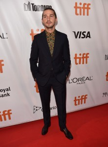 Shia LaBeouf Borg vs McEnroe Premiere 2017 Toronto International Film Festival