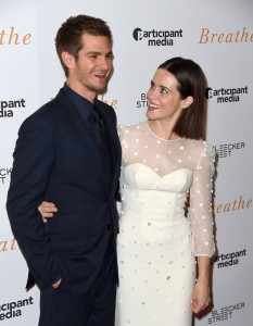 Andrew Garfield and Claire Foy Breathe New York Special Screening
