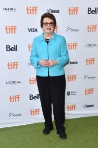 Billie Jean King Battle of the Sexes Premiere 2017 Toronto International Film Festival