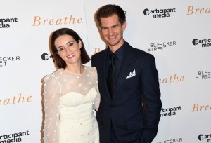 Claire Foy and Andrew Garfield