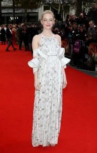 Emma Stone Battle of the Sexes European Premiere 61st BFI London Film Festival