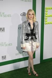 Emma Stone Battle of the Sexes Los Angeles Premiere