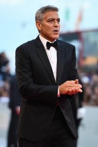 George Clooney Suburbicon Premiere during 74th Venice International Film Festival