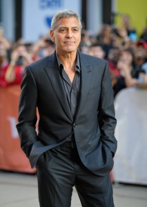George Clooney Suburbicon 2017 Toronto International Film Festival Premiere