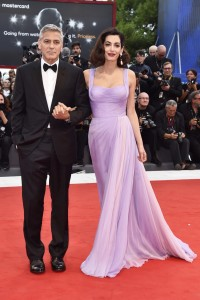 George Clooney and Amal Clooney Suburbicon Premiere during 74th Venice International Film Festival