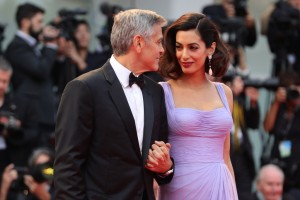 George and Amal Clooney Suburbicon Premiere during 74th Venice International Film Festival