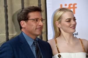 Steve Carell and Emma Stone Battle of the Sexes Premiere 2017 Toronto International Film Festival