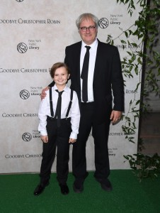 Will Tilston and Simon Curtis Goodbye Christopher Robin New York City Special Screening