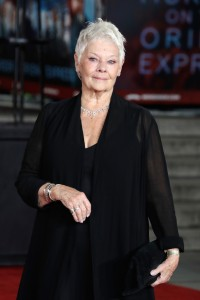 Judi Dench Murder on the Orient Express World Premiere London