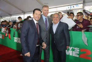 Mark Wahlberg, Will Ferrell and Jim Gianopulos Daddy's Home 2 Los Angeles Premiere