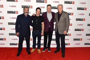 Mel Gibson, Mark Wahlberg, Will Ferrell and John LithgowDaddy's Home 2 London Premiere