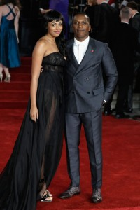 Nicolette Robinson and Leslie Odom Jr. Murder on the Orient Express World Premiere London