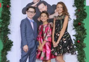 Owen Wilder Vaccaro, Scarlett Estevez and Didi CostineDaddy's Home 2 Los Angeles Premiere