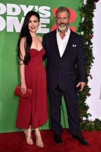 Rosalind Ross and Mel Gibson Daddy's Home 2 Los Angeles Premiere