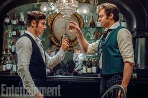 Zac Efron Hugh Jackman The Greatest Showman Still