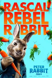Peter Rabbit Official Movie Wallpaper