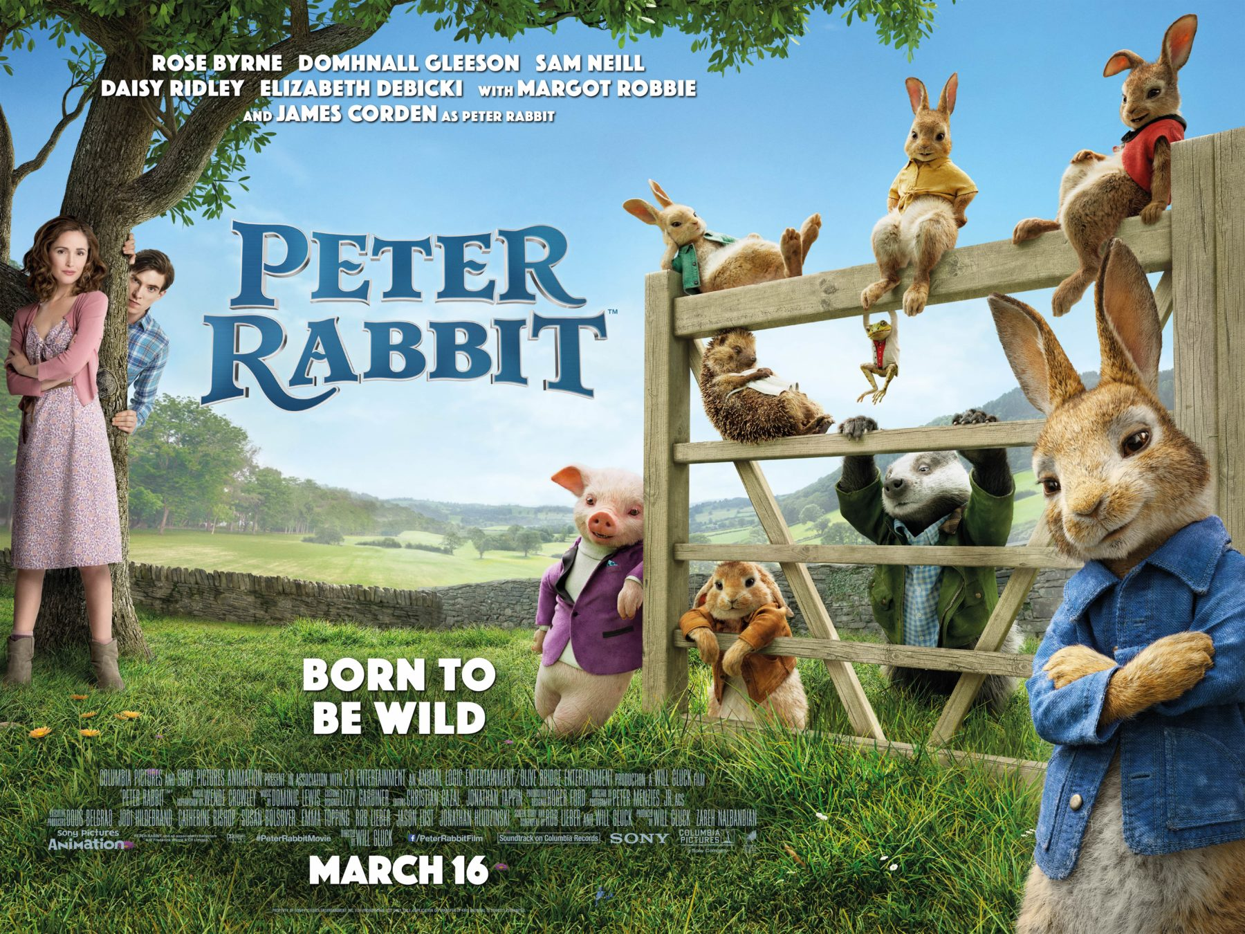 Peter Rabbit Official Movie Wallpaper