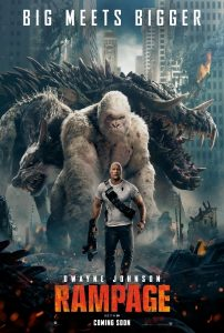 rampage official movie poster