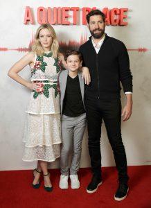 Emily Blunt, Noah Jupe and John Krasinski