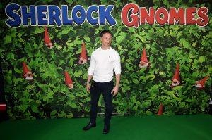 James McAvoy attends Sherlock Gnomes Family Gala Screening in London