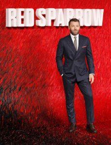 Joel Edgerton Red Sparrow European Premiere London