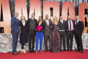 cast and filmmakers of rampage european premiere london red carpetrampage european premiere london red carpet