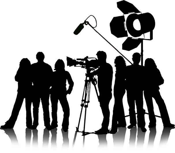 who works on a film set  whats on the red carpet movie camera clipart free movie camera clip art free
