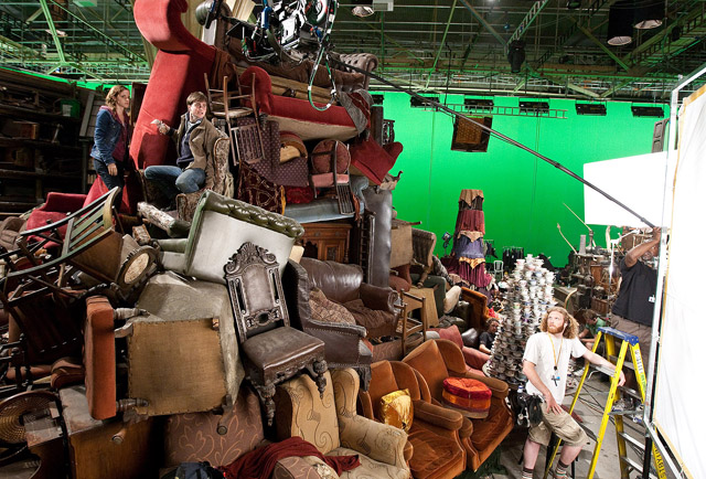 harry potter and the deathly hallows production design