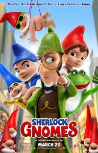 Sherlock Gnomes Official Movie Poster