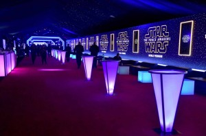 Star Wars world premiere After Party in Los Angeles