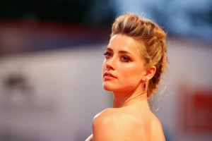 Amber Heard attends The Danish Girl film premiere during 72nd Venice International Film Festival on September 4, 2015.